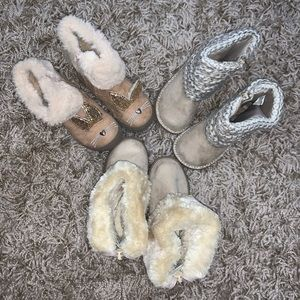 Bundle of toddler girl boots